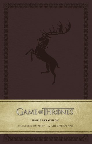 Game of Thrones: House Baratheon Hardcover Ruled Journal (Large)